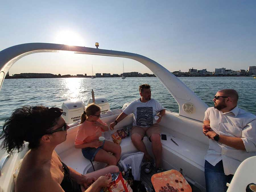 Afterwork en mer avec loc and boat, location de bateau