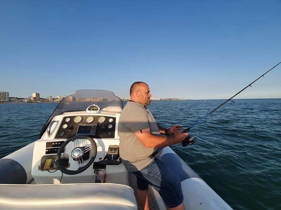 Location de bateau et pêche en mer en Vendée aux Sables d'Olonne