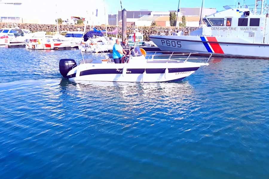 Sortie mer en famille Sables d'Olonne 85